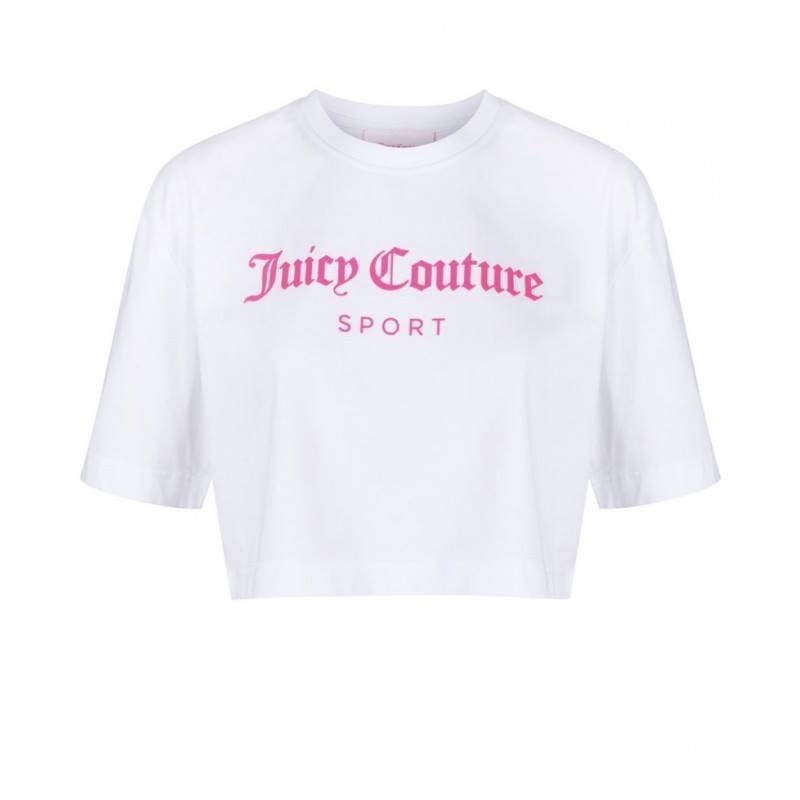 JUICY  COUTURE - T-Shirt CARLA - BIANCO