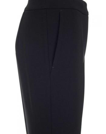 MAX MARA - KERRY Crepe Trousers - Black