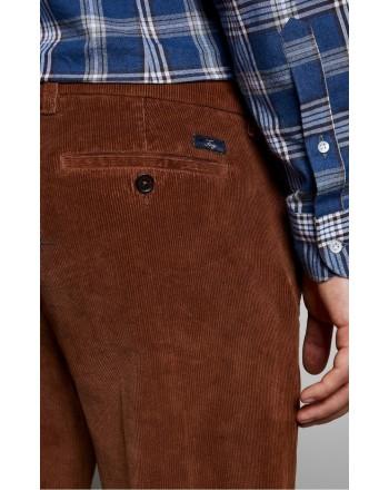 FAY - Velvet Trousers - Brown