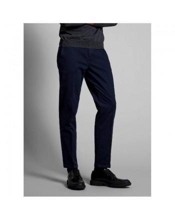 FAY - Velvet Trousers - Blue