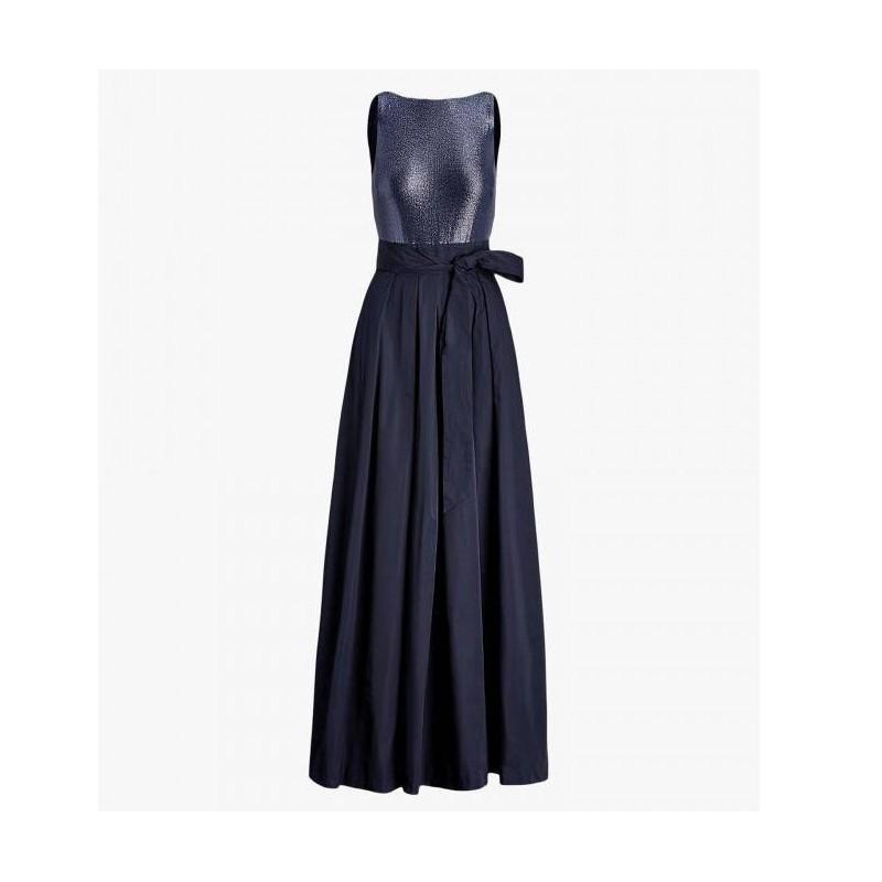 POLO RALPH LAUREN - Long Dress AGNI -Two Toned