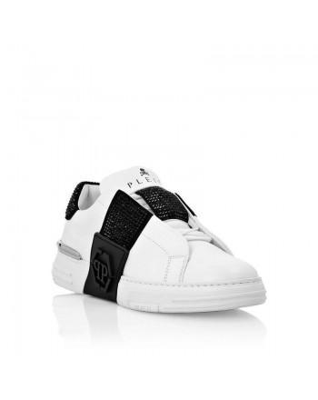PHILIPP PLEIN - PHANTOM KICKS LO-TOP - White/Black