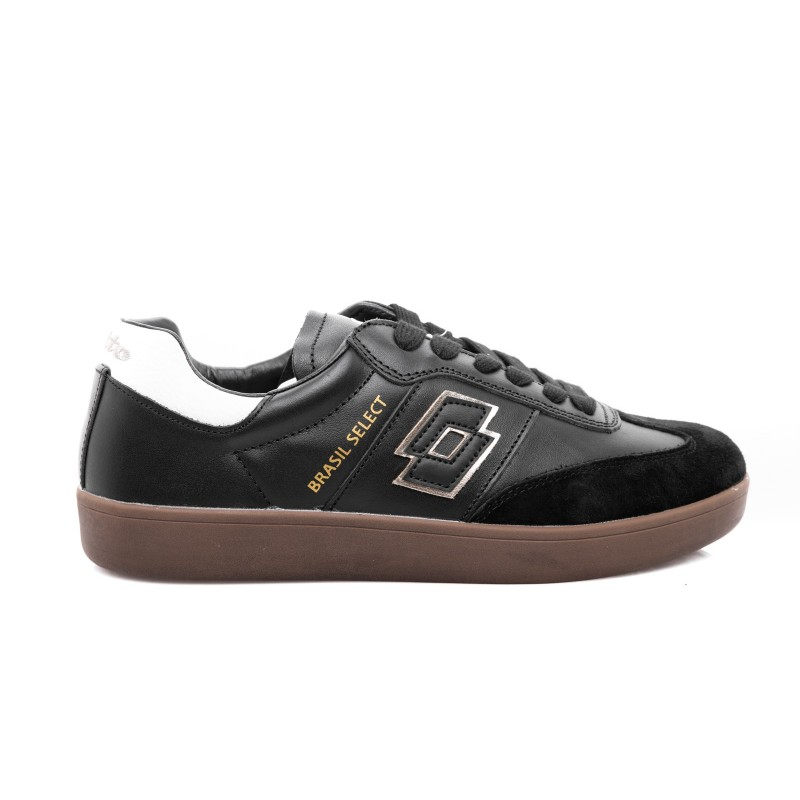 LOTTO LEGGENDA - Sneakers BRASIL SELECT - Nero/Oro,