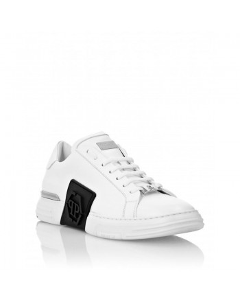 PHILIPP PLEIN - PHANTOM KICKS LOW TOP Sneakers - White