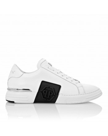 PHILIPP PLEIN - Sneakers PHANTOM KICKS LOW TOP  -Bianco