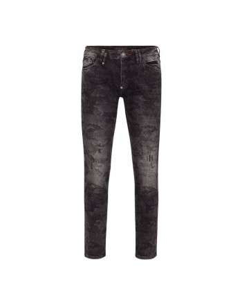PHILIPP PLEIN - Jeans Slim Fit ISTITUTIONAL - Gorilla