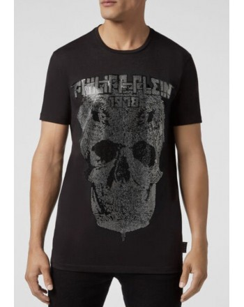 PHILIPP PLEIN - T-Shirt SKULL DIAMOND - Nero