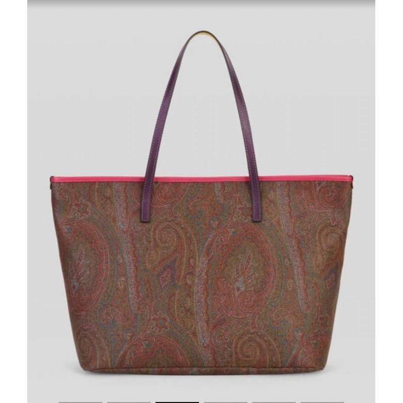 ETRO - Shoppinh PAISLEY con dettagli colorati - Multicolor