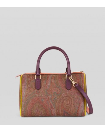 ETRO - Bauletto PAISLEY con inserti colorati - Multicolor