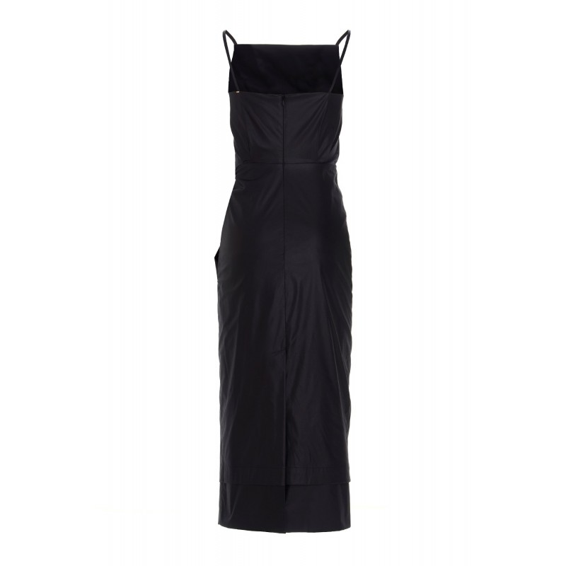 SPORTMAX - NAPOLI Front Knot Dress - Black