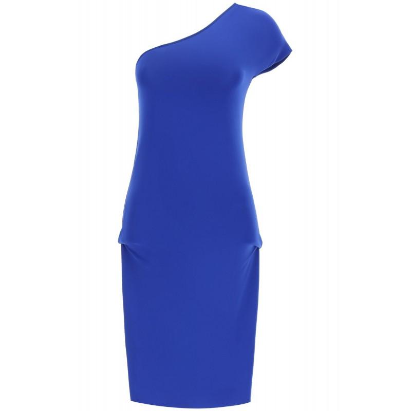 SPORTMAX - NIDO Viscose Dress - Bluette