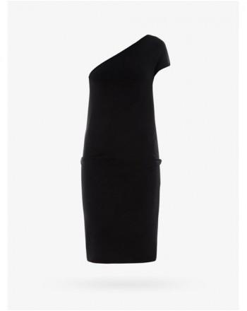 PINKO - RIPOSATO Stretch crepe dress - Black