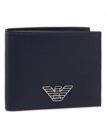 EMPORIO ARMANI - Portafoglio con Logo - Nero