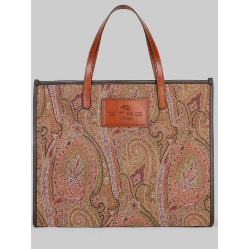 ETRO - JACQUARD shopping bag - PAISLEY