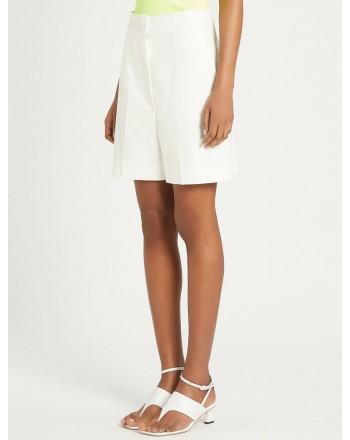 SPORTMAX - PLACIDO High Waist Shorts - Milk White