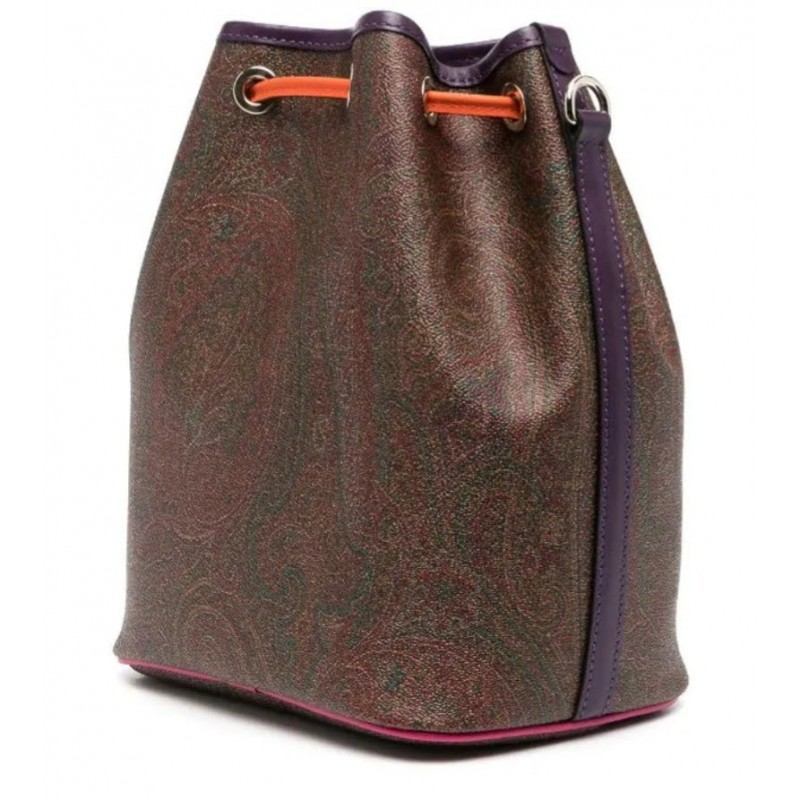 ETRO - PAISLEY print bucket with colored profiles - Muklticolor