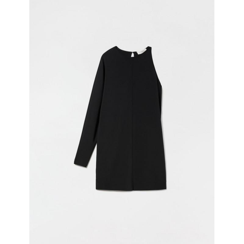 SPORTMAX - MASER Jersey Dress- Black