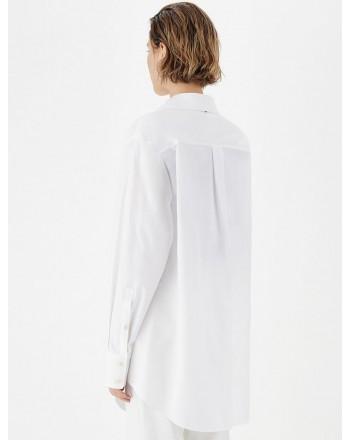 SPORTMAX -TENDA Cotton Shirt - White