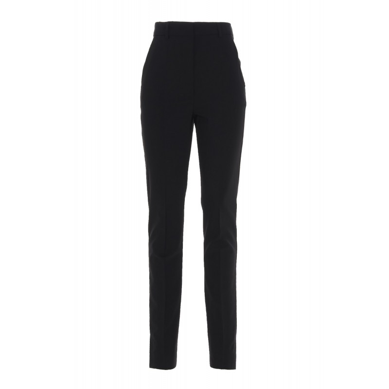 SPORTMAX - VENUS Stretch Wool Trousers - Black