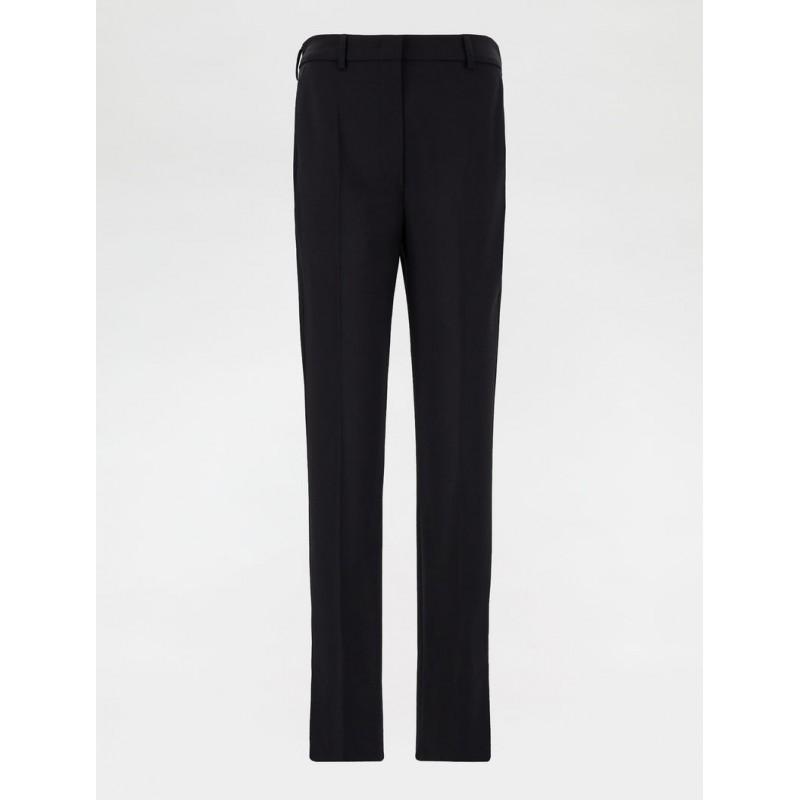 SPORTMAX - Pantalone in Lana Stretch  VENUS - Nero