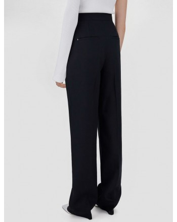 SPORTMAX -  OVALE Soft Styled Trousers - Black