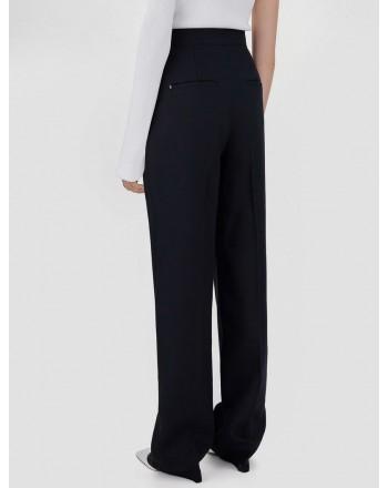 SPORTMAX - Pantalone Morbido OVALE - Nero