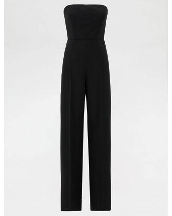 SPORTMAX -  NILO Stretch Wool Jumpsuit - Black