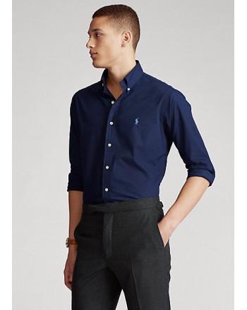 POLO RALPH LAUREN  -   Camicia - Custom Fit - Blu