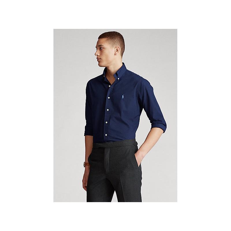 POLO RALPH LAUREN  - shirt - Custom Fit - Blue