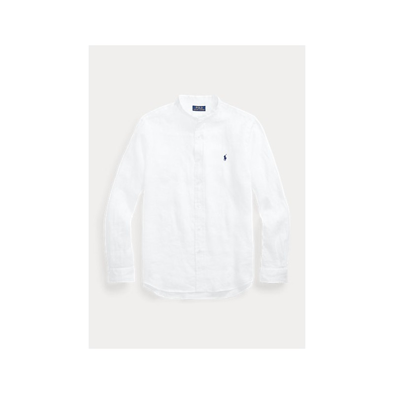POLO RALPH LAUREN  - Flax Shirt - Slim Fit - B.D. - White -