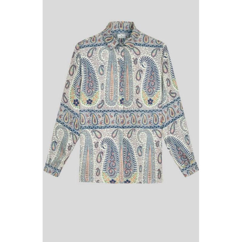 ETRO - Paisley silk shirt MOSAIC - Fantasy