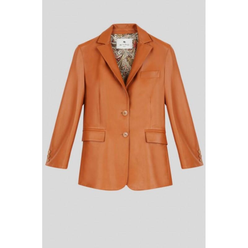 ETRO - Leather jacket - Leather