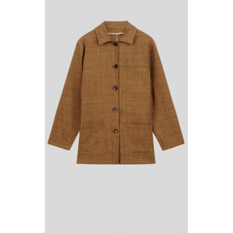 ETRO - Linen and silk jacket - Leather