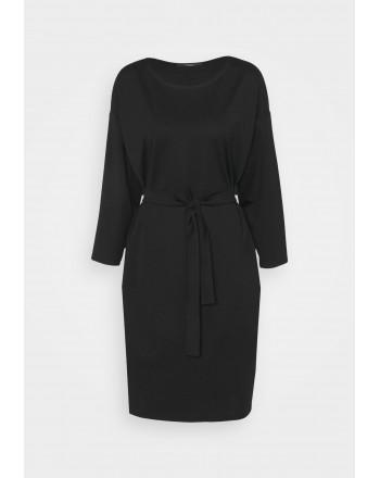 WEEKEND MAX MARA -  LIBICO Jersey Dress - Black