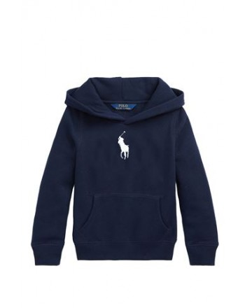 POLO KIDS - Felpa Cappuccio Big Pony