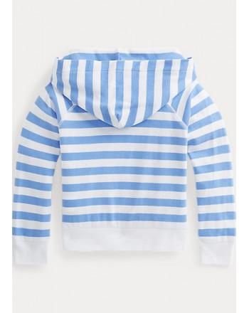 POLO KIDS -Striped Hooded Sweatshirt