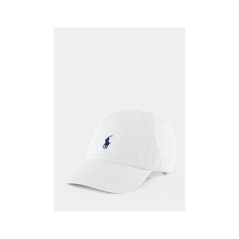 POLO RALPH LAUREN  - Logged hat - White -
