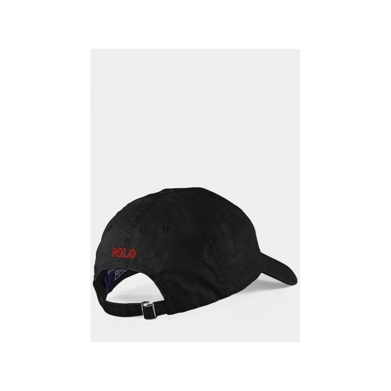 POLO RALPH LAUREN  - Logged hat - Black -