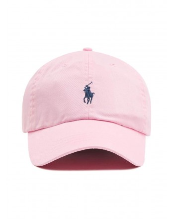 POLO RALPH LAUREN  - Logged hat - Rose -