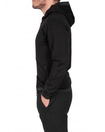 EMPORIO ARMANI - Sweatshirt in Vescosa - Black
