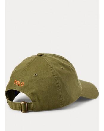 POLO RALPH LAUREN KIDS - Cappello logato - Militare