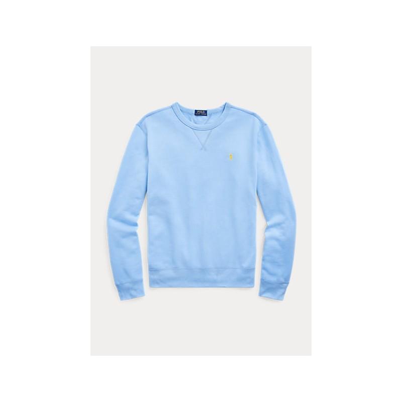 POLO RALPH LAUREN  - Crewneck Sweatshirt - Blue Lagoon