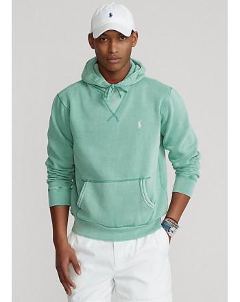 POLO RALPH LAUREN  - Hooded Sweatshirt  - Green -