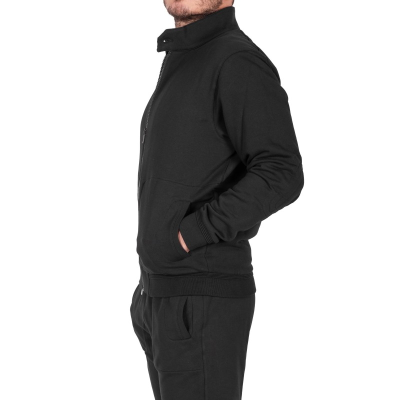 ERMENEGILDO ZEGNA - Cotton Sweatshirt - Black