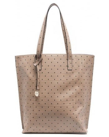 RED VALENTINO - Tote bag with print - Nude / Black