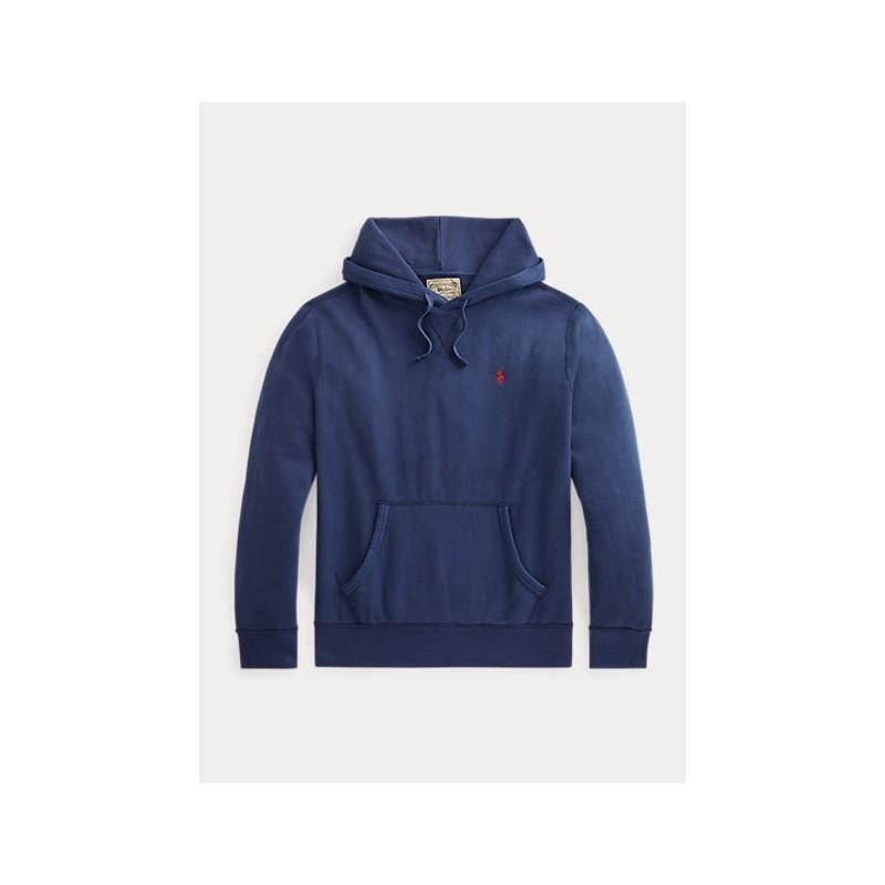 POLO RALPH LAUREN  - Hooded Sweatshirt  - Navy -