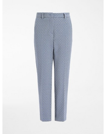 WEEKEND MAX MARA - ONORE Stretch Cotton Trousers - Multicolor