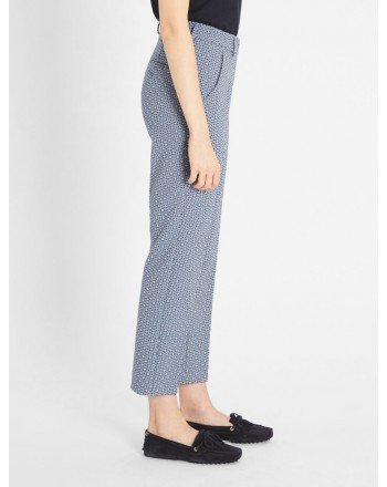 WEEKEND MAX MARA - Pantaloni in Cotone Stretch ONORE -Fantasia