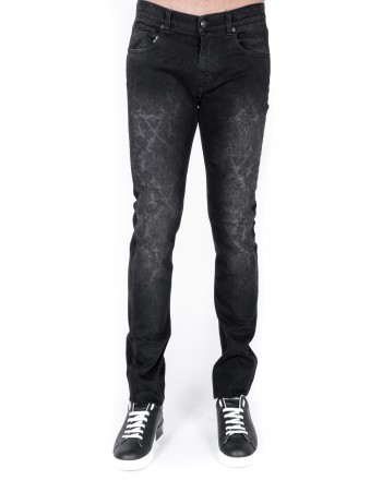 ETRO - Jeans print Paisley effect used - Black