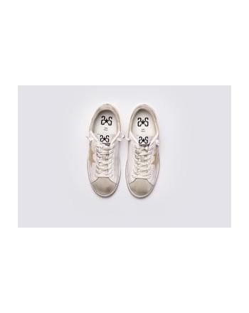2 STAR - Sneakers 2S3043 White/Grey/Beige